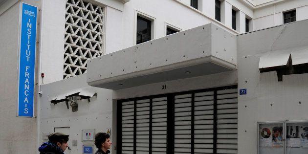 Contre l'Institut français d'Athènes, l'attaque de l'absurde. REUTERS/Michalis