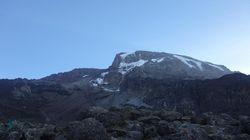 Je suis monté tout en haut du Kilimandjaro et c'est là que j'ai compris ce qu'était le réchauffement