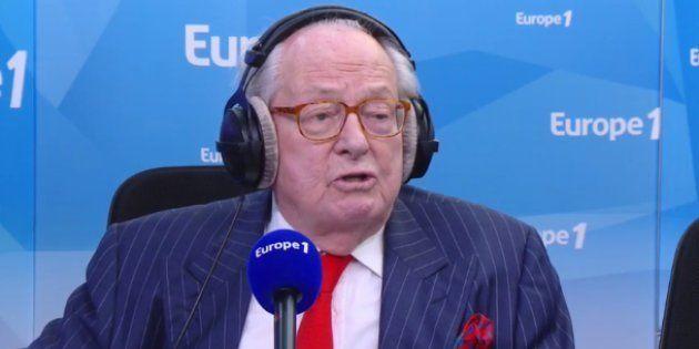 Invité sur Europe1, le président d'honneur du FN, Jean-Marie Le Pen, a appelé sa fille Marine