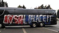 Ils pensent vandaliser le bus de l'équipe adverse sauf