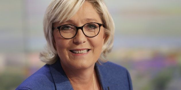 Marine Le Pen au JT du 20 heures de