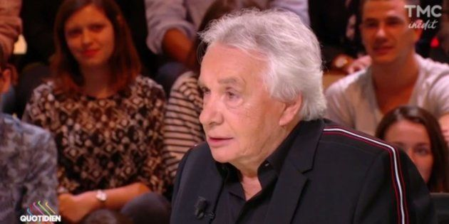 Dans Quotidien, Michel Sardou parle de sa passion pour les