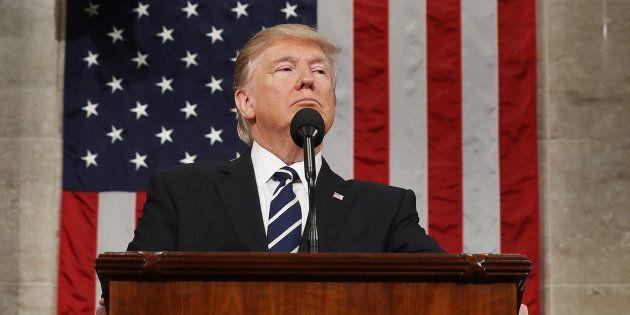 Trump endosse enfin son costume présidentiel devant le Congrès, mais garde clairement son cap