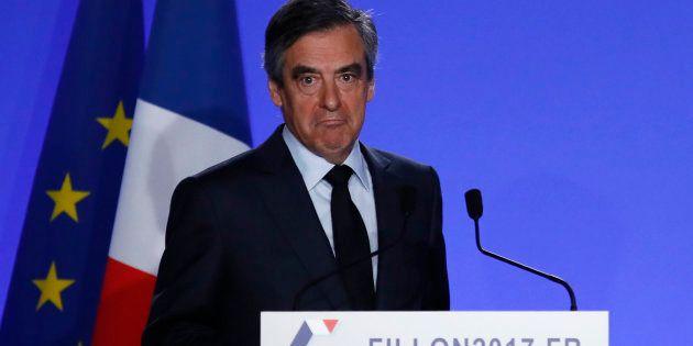 François Fillon a annoncé le maintien de sa candidature lors d'une déclaration à son