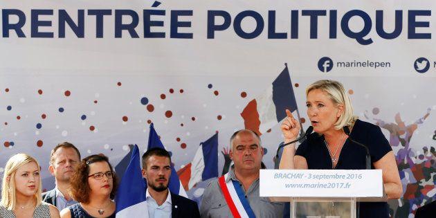 Marine Le Pen fait sa rentrée politique ce samedi à Brachay là où elle avait lancé sa campagne présidentielle...
