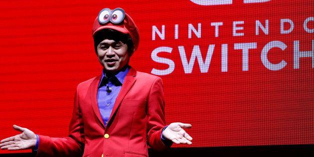La consoleSwitch, la nouvelle catastrophe industrielle de Nintendo. REUTERS/Kim