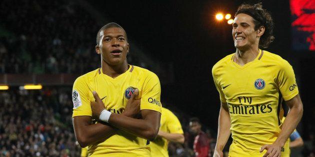 Metz-PSG: premier but de Kylian Mbappé sous le maillot