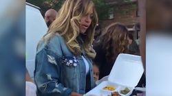 Beyoncé a mis la main à la pâte pour les victimes de l'ouragan
