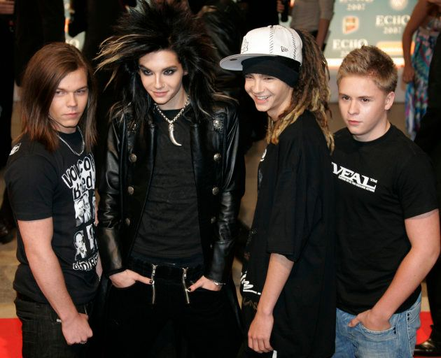 Le groupe Tokio Hotel en