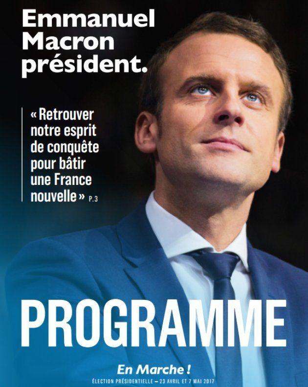 Quel est le programme de Macron ? Le candidat d'En Marche dévoile ses principales