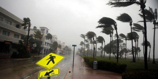 La Floride frappée par l'ouragan Irma, déjà plusieurs