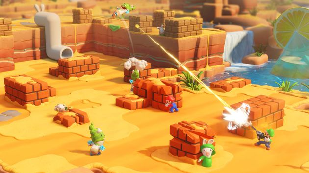 Le jeu vidéo le plus fun de la rentrée réunit Mario et les Lapins