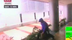 Ce reporter de la chaîne météo a eu bien du mal à rester debout face à l'ouragan