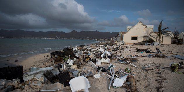 Un ouragan comme Irma peut doper le PIB à court terme, mais c'est bel et bien une catastrophe