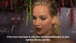 Jennifer Lawrence raconte comment elle s'est blessée sur le tournage de