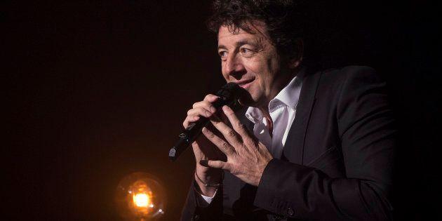 Patrick Bruel au Théâtre Mogador à Paris le 28 mars