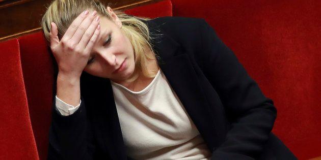 Marion Maréchal-Le Pen attaque Emmanuel Macron en relayant une