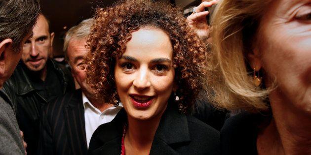 Leila Slimani, lauréate du prix Goncourt 2016, à Paris. REUTERS/Jacky