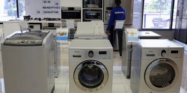Le couvercle de certaines machines à laver Samsung peut