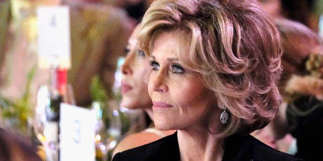 Jane Fonda s'engage activement pour aider les femmes victimes d'agression sexuelle à ne pas se sentir