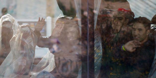 La présidentielle ne doit pas faire oublier le destin des enfants réfugiés à Calais. REUTERS/Pascal