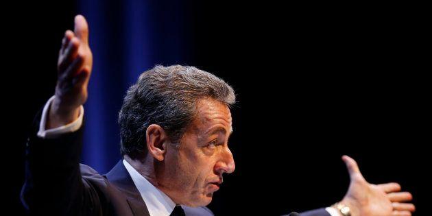 Nicolas Sarkozy, en meeting au mois