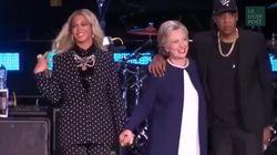 Beyoncé et Jay-Z ont fait les choses en grand pour soutenir Clinton dans la dernière ligne