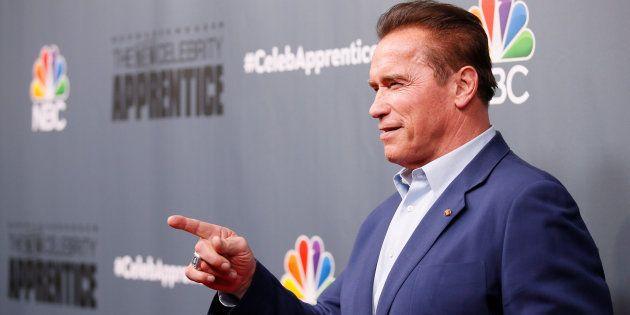 Arnold Schwarzenegger va quitter l'émission de Donald