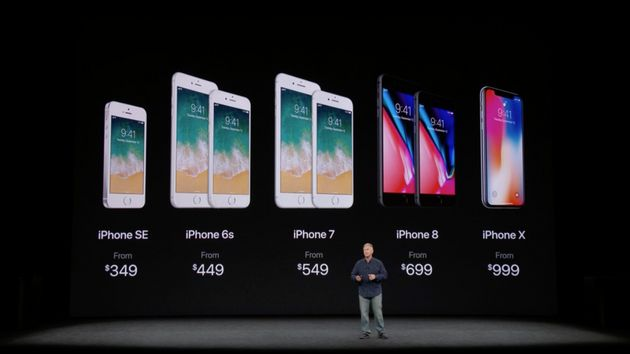 Revivez la keynote d'Apple sur l'iPhone X et l'iPhone
