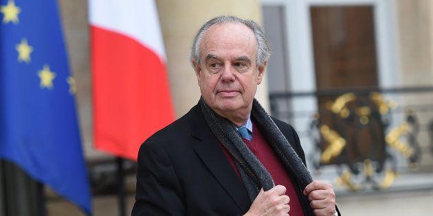 Frédéric Mitterrand à l'Elysée le 8 décembre