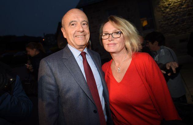Alain Juppé et Claude Chirac à Saint-Setiers le 5 novembre
