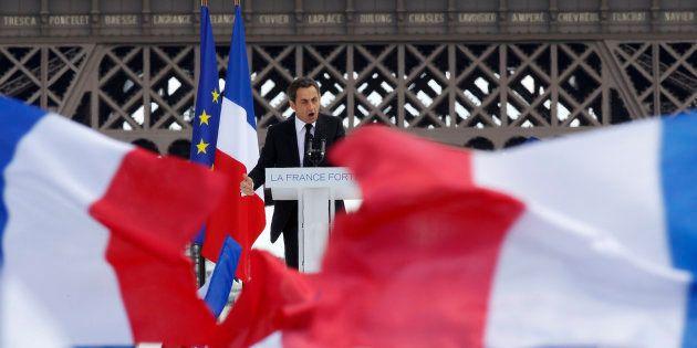 Nicolas Sarkozy avait organisé un grand rassemblement au Trocadéro le 1er mai