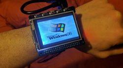 Ce nostalgique crée une montre fonctionnant sous Windows