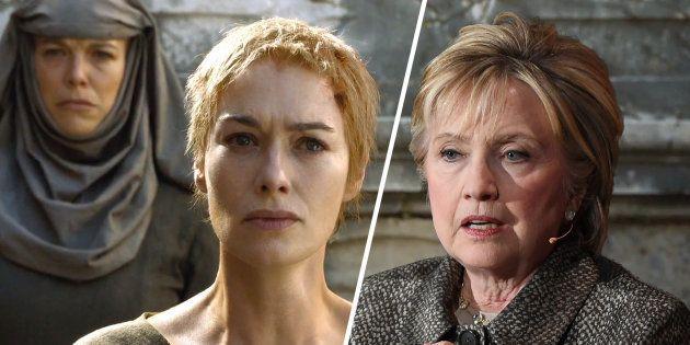 Clinton trouve que les pro-Trump l'ont traitée comme Cersei pendant sa marche de la