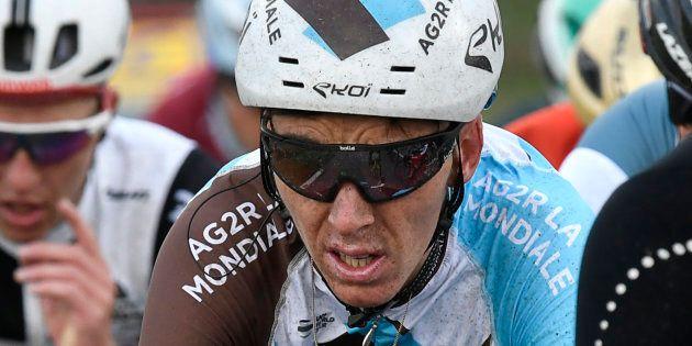 Romain Bardet lors de la première étape de Paris-Nice le 5 mars