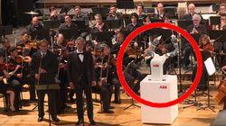 Un robot chef d'orchestre vole la vedette à Andrea