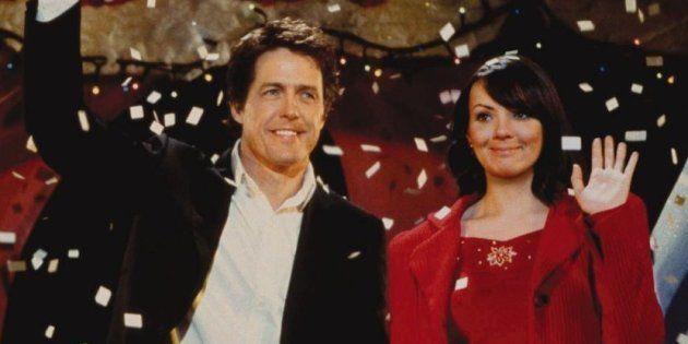La première image des retrouvailles d'Hugh Grant et Martine McCutcheon dans la suite