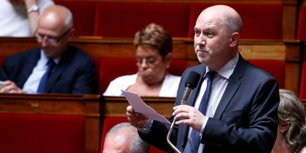 Denis Baupin à l'Assemblée nationale en juillet