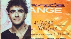 Nikos Aliagas a eu 17 ans comme tout le monde (et partage une photo rare de cette