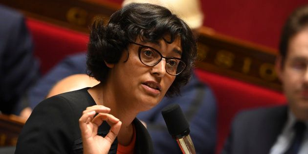 Myriam El Khomri, ministre du travail lors des questions de l'Assemblée nationale au gouvernement le...