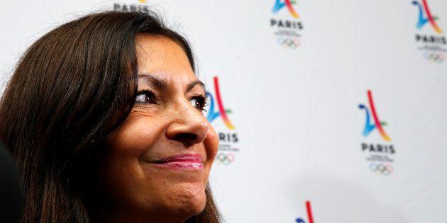 La maire de Paris Anne Hidalgo à Lima au Pérou le 13 septembre
