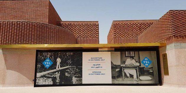 Visite guidée du nouveau musée Yves Saint Laurent à