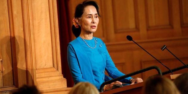 Aung San Suu Kyi dans le collimateur de l'ONU et critiquée pour le traitements des Rohingyas en