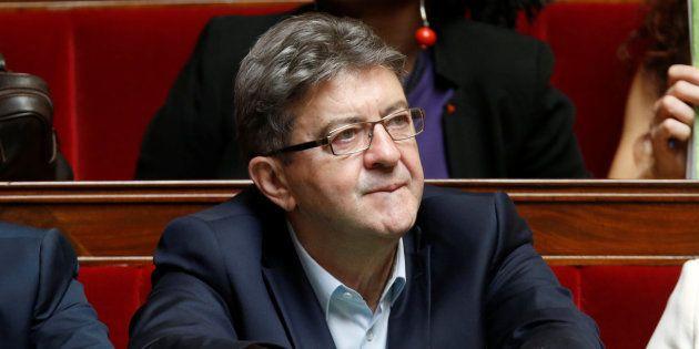 Jean-Luc Mélenchon à l'Assemblée nationale le 12 juillet
