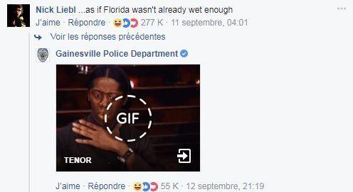 Ce commissariat de Floride ne s'attendait pas à des réactions aussi enflammées après ce