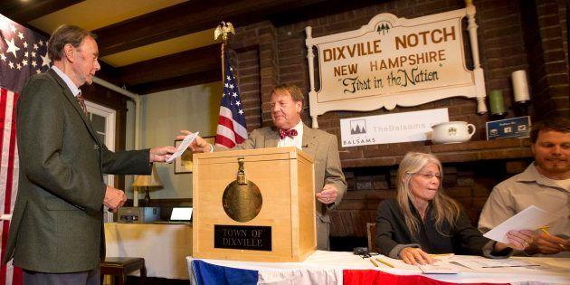 Les électeurs de Dixville Notch votent, mardi 8 novembre