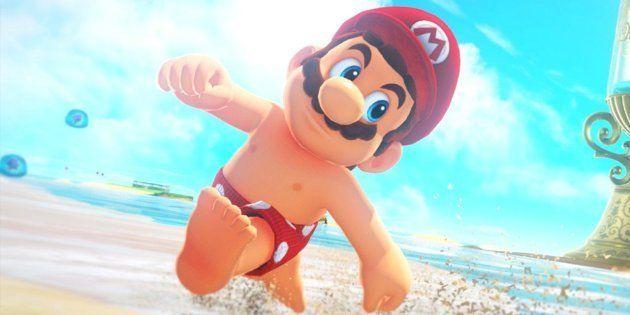 Croyez-le ou non mais Mario a des tétons