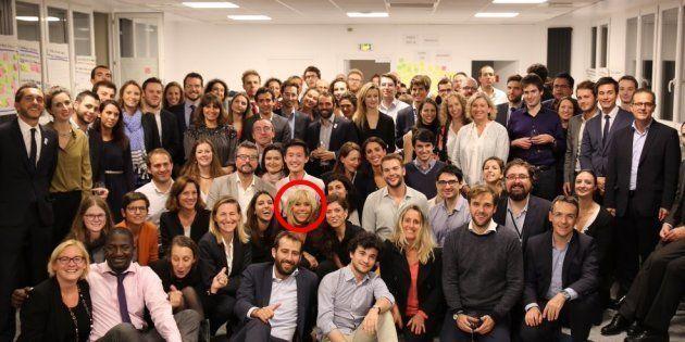 Brigitte Macron inaugure les nouveaux locaux de La République en