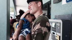BLOG - Non M. Schneidermann, la photo du soldat et de la fillette à St Martin n'est pas une image de