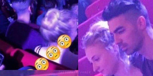 Sophie Turner et Joe Jonas étaient très proches lors d'un concert à